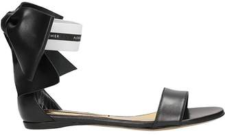 Alexandre Vauthier Bow Flat Sandals