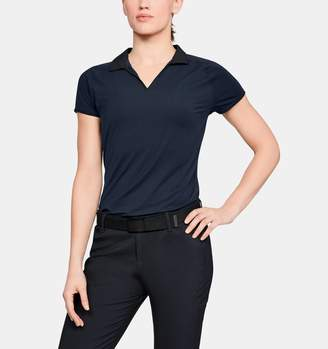Under Armour Women's UA Microthread Polo