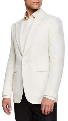 Ermenegildo Zegna Men's Peak-Lapel Wool Dinner Jacket