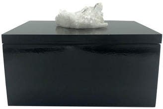 Nature Decorations - Jewelry Box with Quartz Cluster