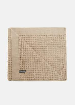 MORIHATA Lattice Bath Towel Beige