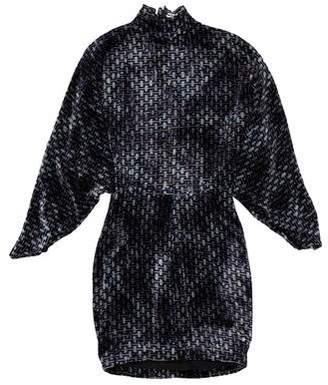 Alexis Mabille Velvet Mini Dress