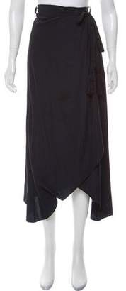 Calypso Asymmetrical Midi Skirt