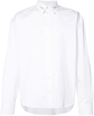 Y/Project Y / Project bug appliqué collar shirt