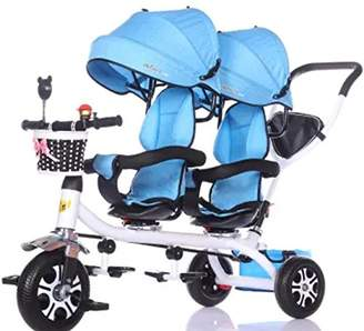 Best Mom Guide Baby Toddler Twins Double Seats Tricycle Stroller