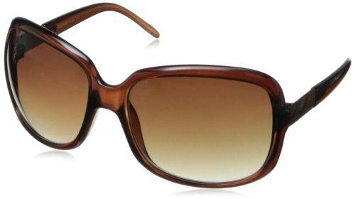 Calvin Klein Women's CWR618SL 001 Square Sunglasses