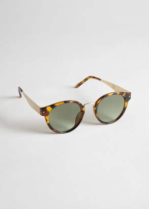 And other stories Rounded Tortoise Sunglasses