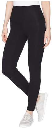Yummie by Heather Thomson Ankle Leggings with Faux Lace-Up Women's Casual Pants