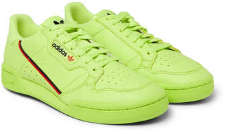 adidas Continental 80 Grosgrain-Trimmed Leather Sneakers