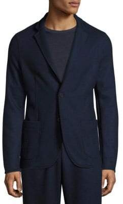 Tomas Maier Felted Wool Slim-Fit Blazer