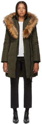 Mackage Green Kay Classic Down Coat