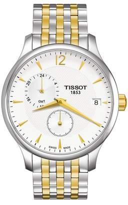 Tissot Men's Tradition Two-Tone Bracelet Watch, 42mm