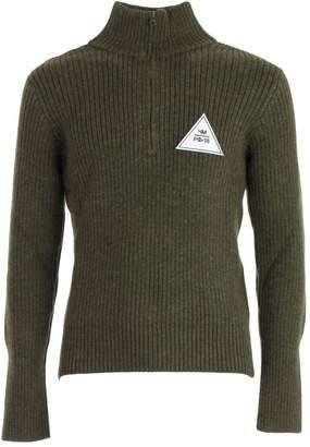 Gosha Rubchinskiy Logo Zipped Sweater