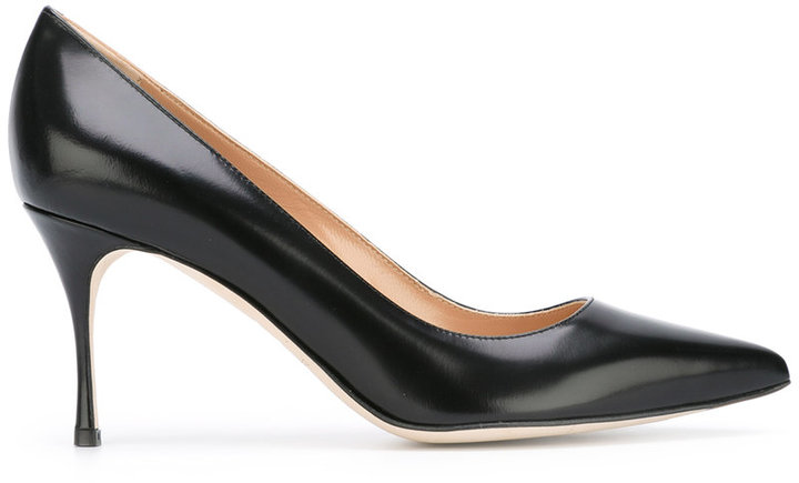 Sergio Rossi pointed mid stiletto pumps
