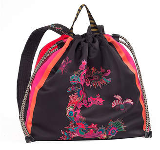 Etro Printed Fabric Backpack