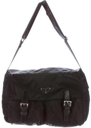 pradaPrada Vela Messenger Bag