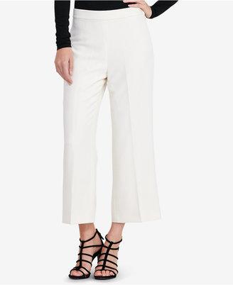 Lauren Ralph Lauren Crepe Wide-Leg Pants $145 thestylecure.com