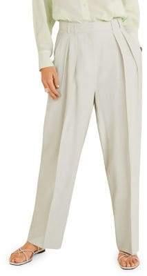 MANGO Claudi Straight Suit Trousers