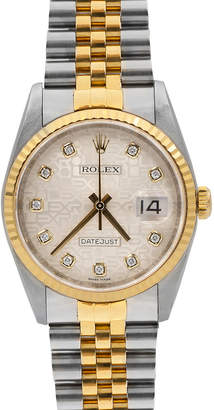 Rolex Pre-Owned 36mm Men's Datejust Jubilee Diamond-Dial Automatic Bracelet Watch, Two-Tone
