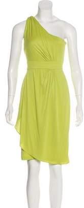 Diane von Furstenberg One-Shoulder Cocktail Dress