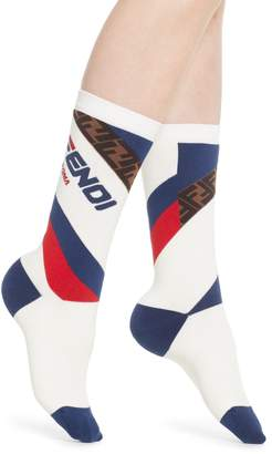 Fendi x FILA Mania Logo Socks