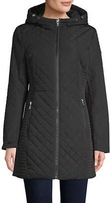 Calvin Klein Walker Hooded Quilted Jacket