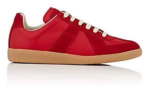 "Maison Margiela Women's ""Replica"" Leather & Suede Sneakers - Red"
