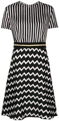 Stella McCartney multi-print flared midi dress