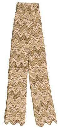 Missoni Patterned Wool-Blend Scarf