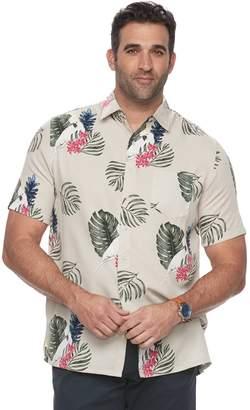 Croft & Barrow Big & Tall Croft & Barrow? Regular-Fit Soft Touch Microfiber Button-Down Shirt