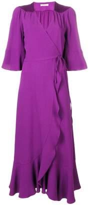Twin-Set evening wrap-around dress