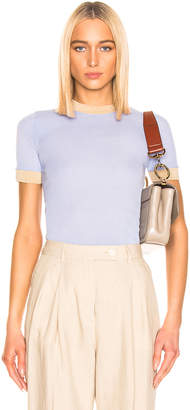 Acne Studios Eva T Shirt in Pale Blue | FWRD