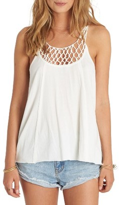 Women's Billabong Knotted Neckline Tank $39.95 thestylecure.com