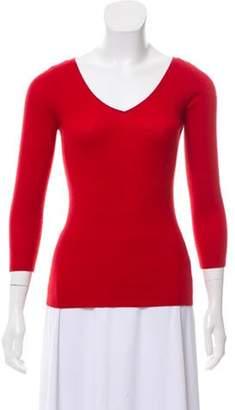 Michael Kors Semi-Sheer Cashmere Sweater Semi-Sheer Cashmere Sweater