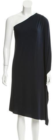 MICHAEL Michael KorsMichael Kors Collection Draped One-Shoulder Dress w/ Tags