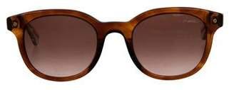 Lanvin Round Gradient Sunglasses