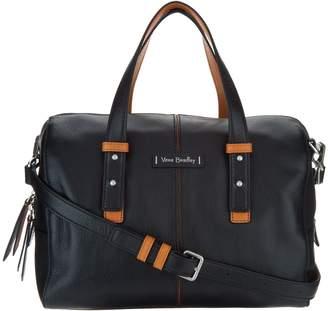 Vera Bradley Gallatin Leather Satchel Handbag