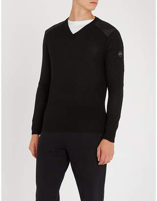 Canada Goose McLeod V-neck wool jumper