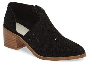 Women's 1.state Iddah Perforated Cutaway Bootie $139.95 thestylecure.com