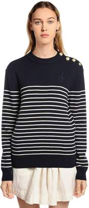 J.W.Anderson Striped Fine Merino Wool Knit Sweater