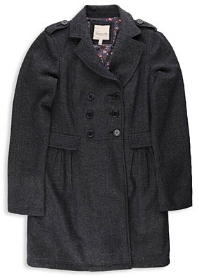 Herringbone Tweed DB Coat