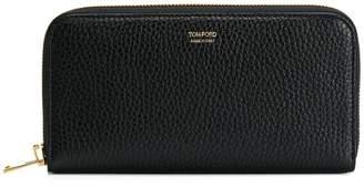 Tom Ford logo zipped wallet