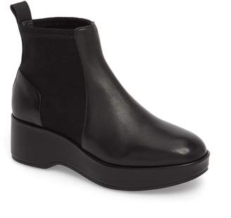 Camper Sisea Platform Wedge Stretch Bootie