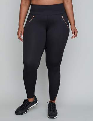 Lane Bryant Sculpting Active 7/8 Legging - Zipper Pockets