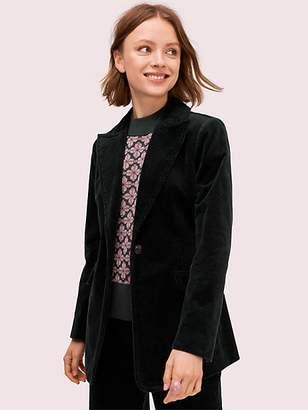 Kate Spade Modern Cord Blazer, Deep Spruce - Size 0