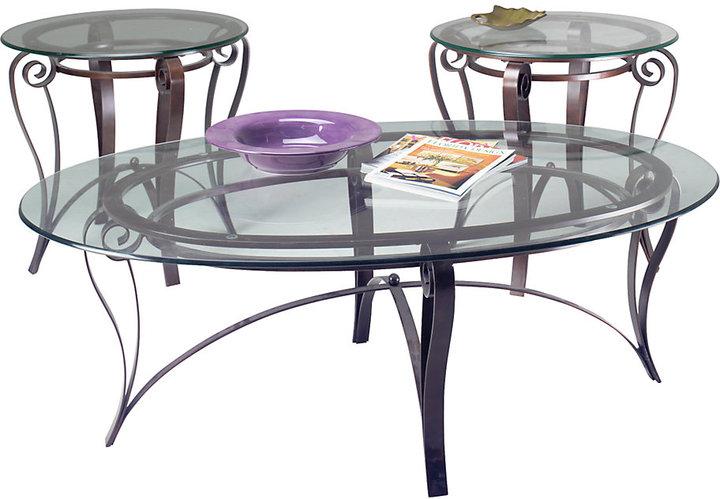 Abigail 3 Pc Table Set
