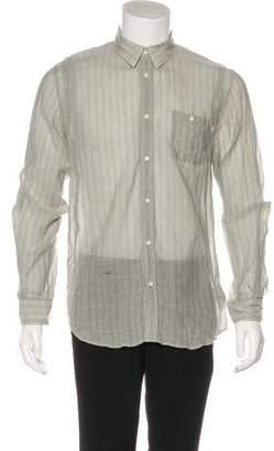 Robert Geller Striped Dress Shirt
