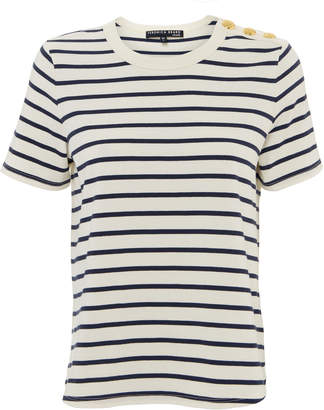 Veronica Beard Simpson Stripe Tee