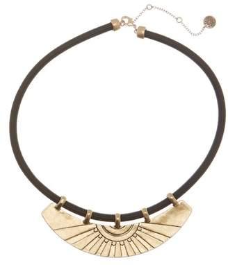 The Sak Etched Bib Collar Necklace