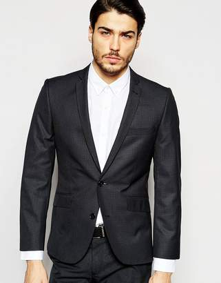 Ben Sherman Check Suit Jacket